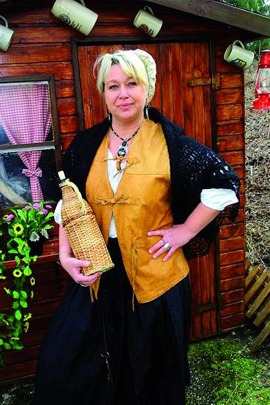Marktvorsteherin Doris